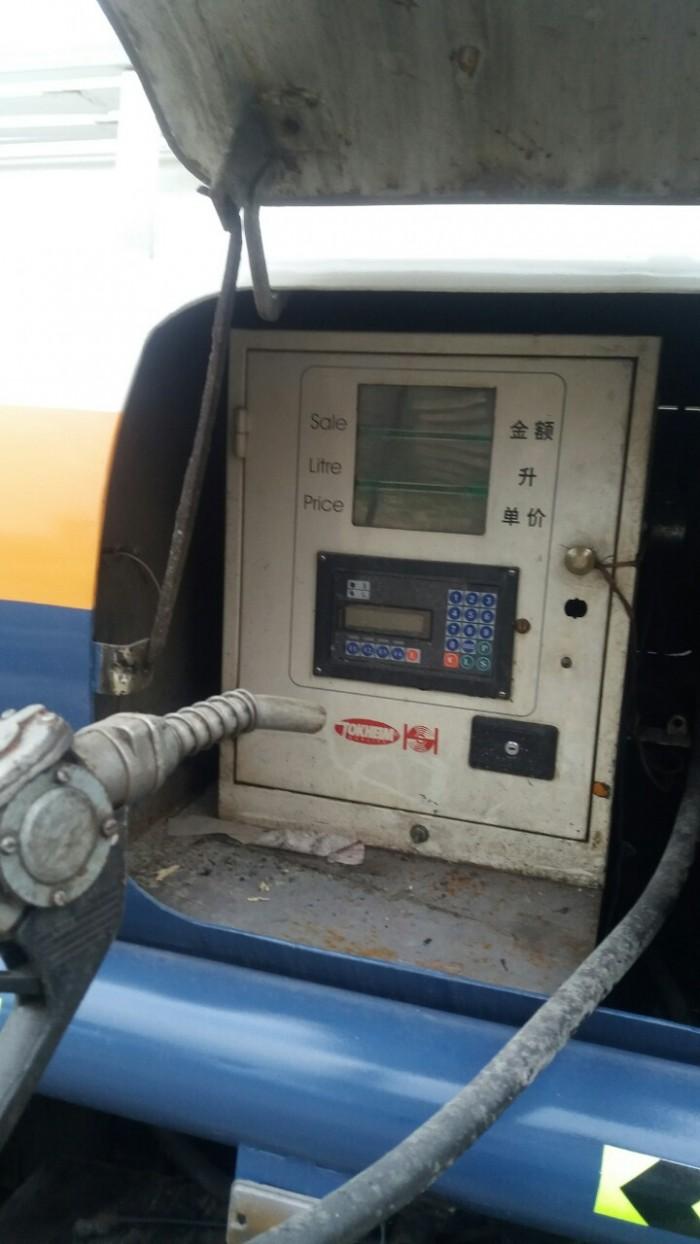 Xe bồn xăng dầu cũ