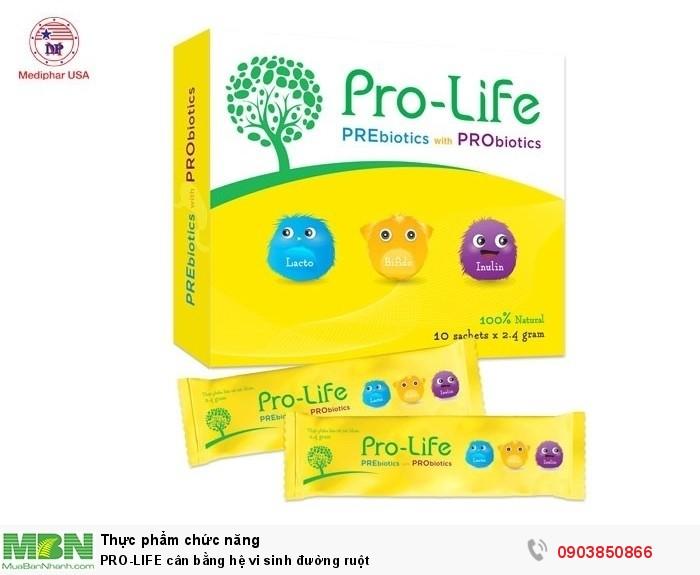 PRO-LIFE cân bằng hệ vi sinh đường ruột0