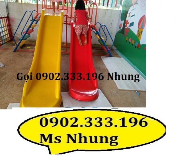 Cầu trượt trẻ em giá rẻ, cầu trượt cho bé giá rẻ10