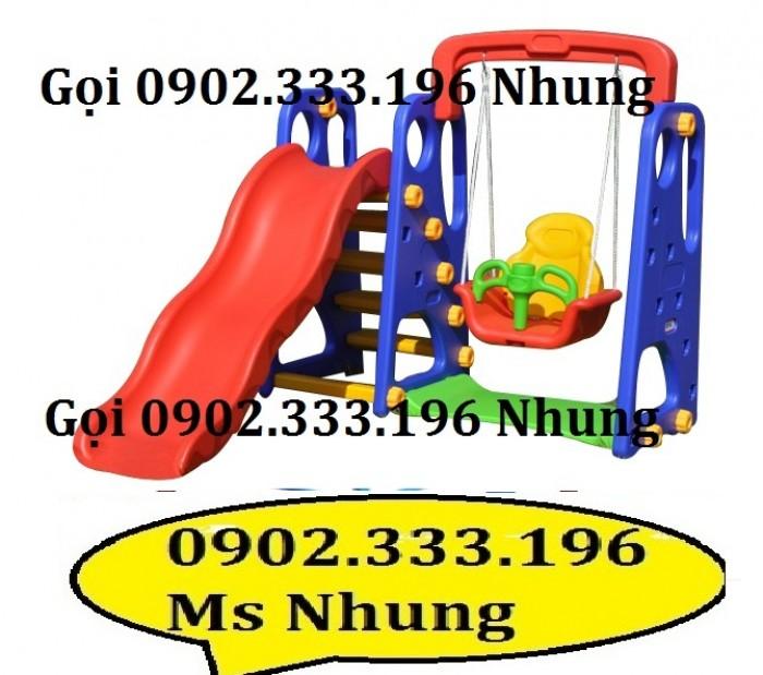 Cầu trượt trẻ em giá rẻ, cầu trượt cho bé giá rẻ9