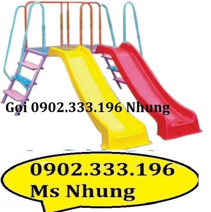 Cầu trượt trẻ em giá rẻ, cầu trượt cho bé giá rẻ1
