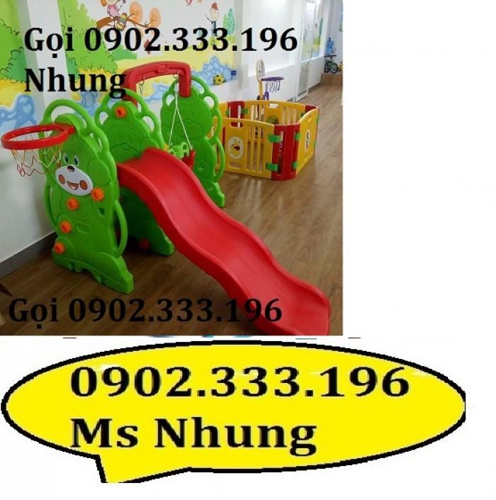 Cầu trượt trẻ em giá rẻ, cầu trượt cho bé giá rẻ0