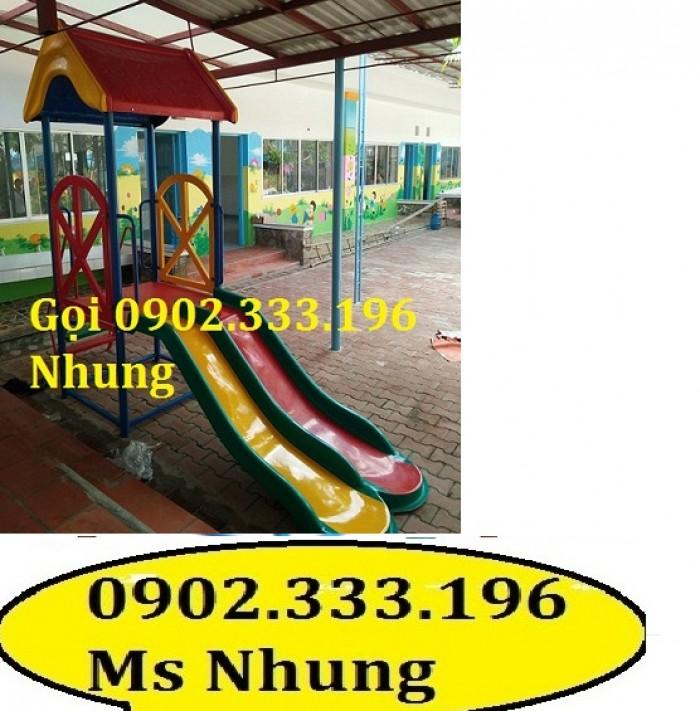 Cầu trượt trẻ em giá rẻ, cầu trượt cho bé giá rẻ3