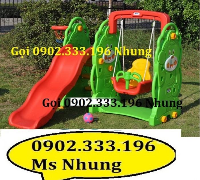 Cầu trượt trẻ em giá rẻ, cầu trượt cho bé giá rẻ6