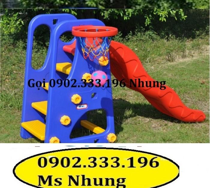 Cầu trượt trẻ em giá rẻ, cầu trượt cho bé giá rẻ2