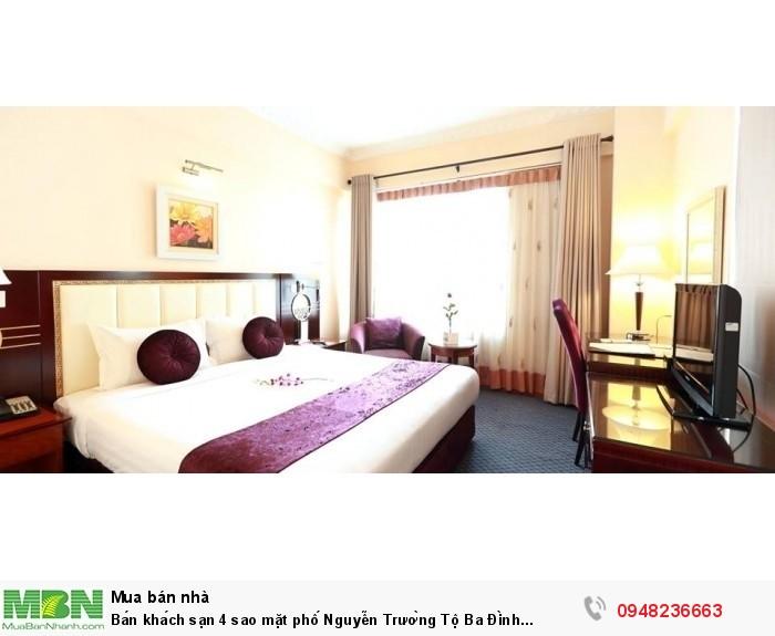 Bán khách sạn 4 sao mặt phố Nguyễn Trường Tộ Ba Đình 512m2 15 tầng 300 tỷ