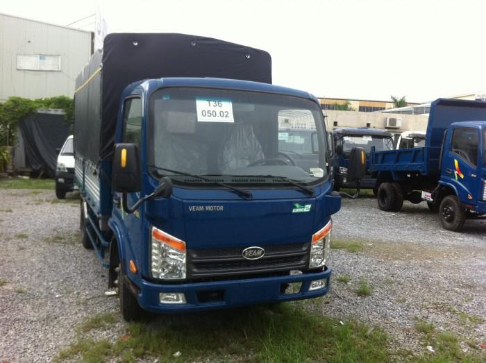 Xe tải 2 tấn 4 động cơ Hyundai veam 252-1 thùng lửng, mui ,kín giảm giá sóc tháng 5