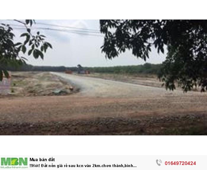 Đất nền giá rẻ sau kcn vào 2km.chơn thành,bình phước/349tr/5x43 bao sổ