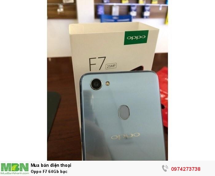 Oppo F7 64Gb bạc3