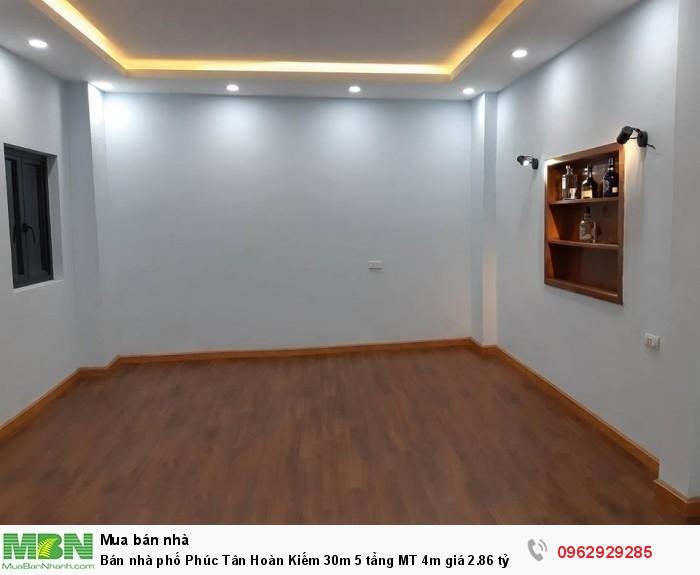 Bán nhà phố Phúc Tân  Hoàn Kiếm 30m 5 tầng MT 4m giá 2.86 tỷ.