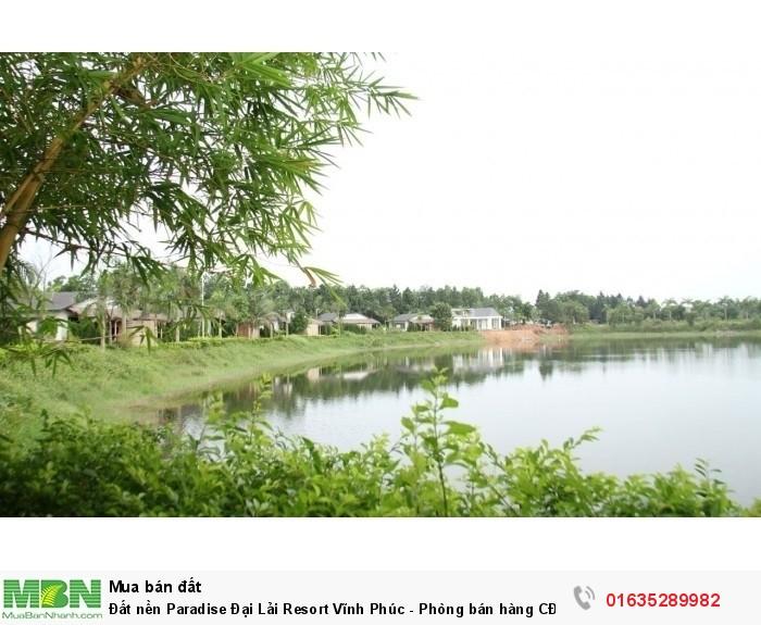 Đất nền Paradise Đại Lải Resort Vĩnh Phúc - Phòng bán hàng CĐT