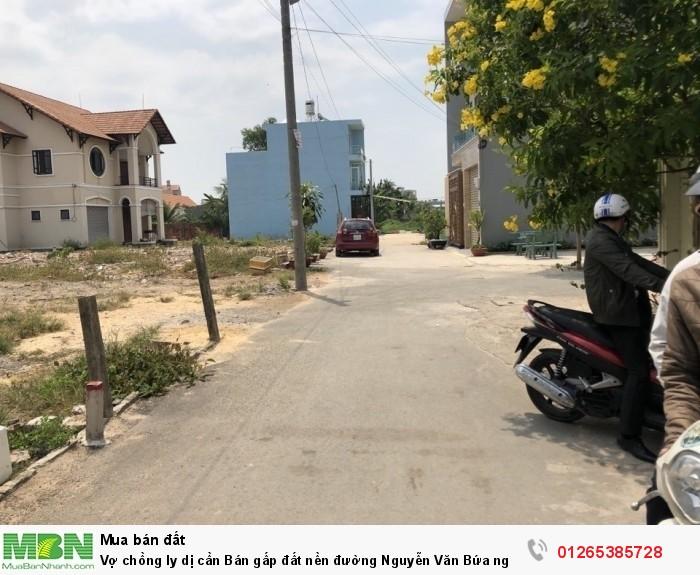 Vợ chồng ly dị cần Bán gấp đất nền đường Nguyễn Văn Bứa ngay ngã ba Giồng 120m2