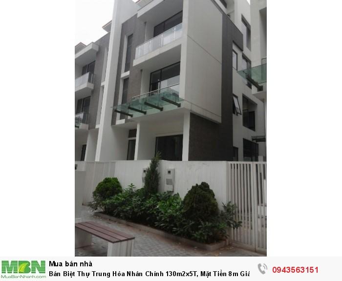 Bán Biệt Thự Trung Hòa Nhân Chính 130m2x5T, Mặt Tiền 8m Giá Rẻ