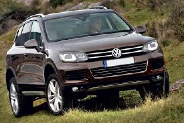 Volkswagen Touareg sản xuất năm 2018 Số tự động Động cơ Xăng