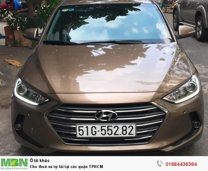 Cho thuê xe tự lái tại các quận TPHCM