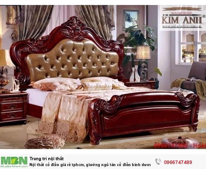 [1] Nội thất cổ điển giá rẻ TPHCM, giường ngủ tân cổ điển Bình Dương, Cần Thơ