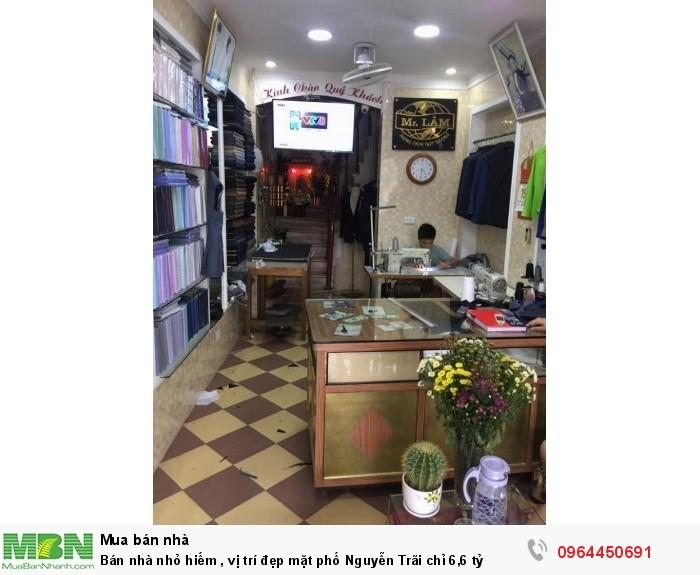 Bán nhà nhỏ hiếm , vị trí đẹp mặt phố Nguyễn Trãi chỉ 6,6 tỷ