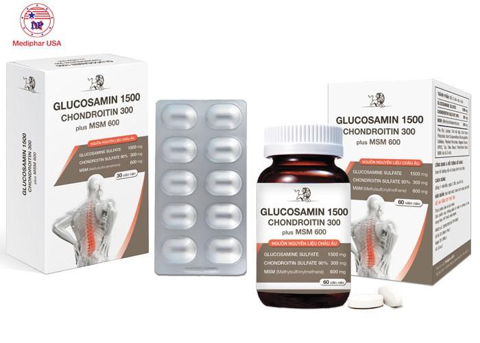 Thực phẩm hỗ trợ xương khớp - GLUCOSAMIN 1500