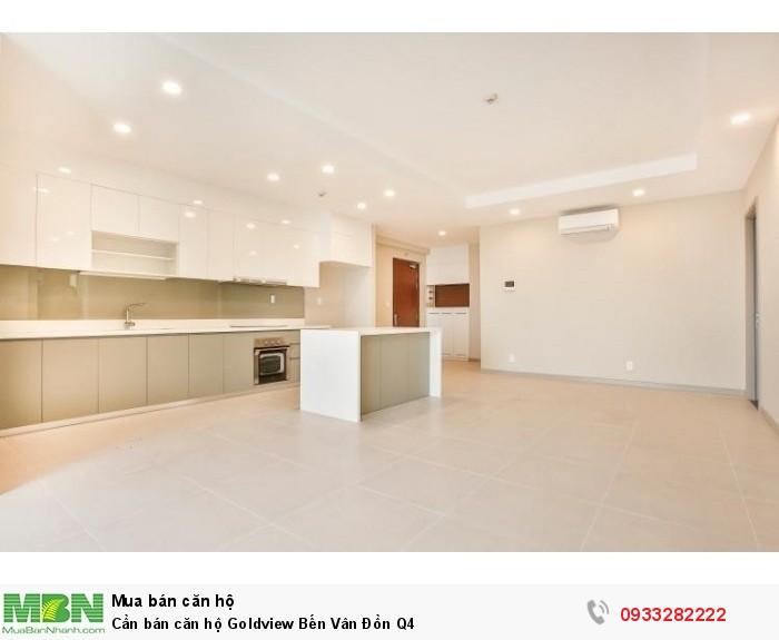 Cần bán căn hộ Goldview Bến Vân Đồn Q4