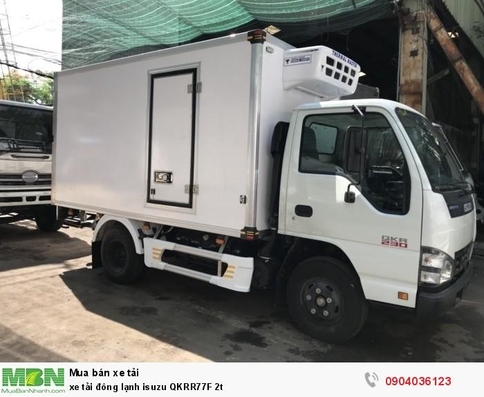 Xe tải đông lạnh Isuzu QKRR77F 2t