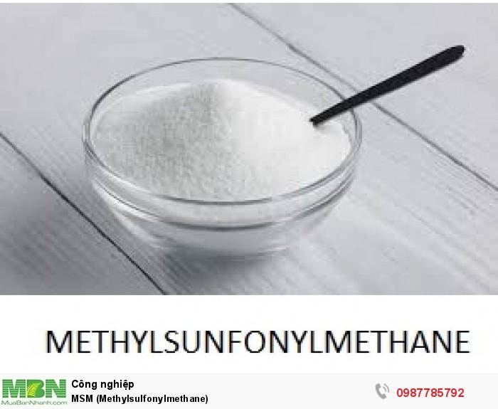MSM (Methylsulfonylmethane)0