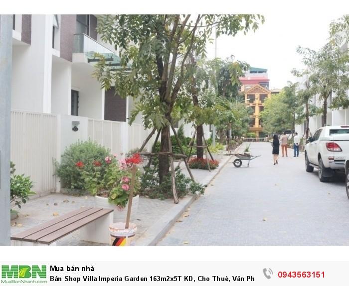 Bán Shop Villa Imperia Garden 163m2x5T KD, Cho Thuê, Văn Phòng