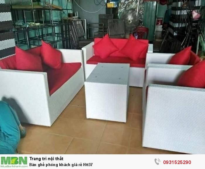 Bàn ghế phòng khách giá rẻ Htt371