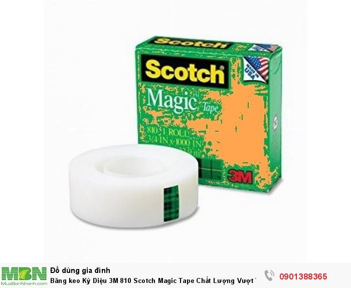 Băng keo Kỳ Diệu 3M 810 Scotch Magic Tape Chất Lượng Vượt Trội - 3M8103