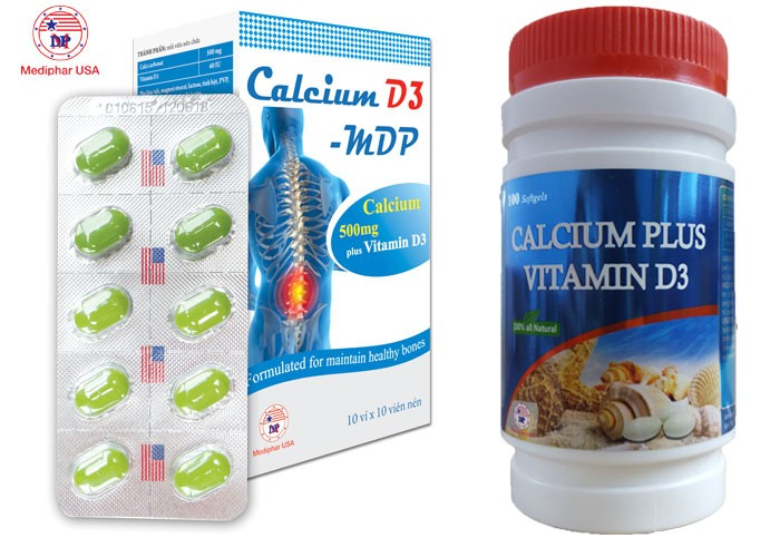 CALCIUM PLUS VITAMIN D3 - Phòng loãng xương, xốp xương và còi xương2