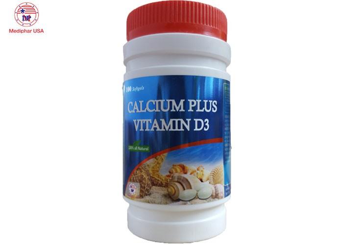 CALCIUM PLUS VITAMIN D3 - Phòng loãng xương, xốp xương và còi xương0