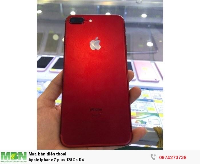 Apple iphone 7 plus 128Gb Đỏ1