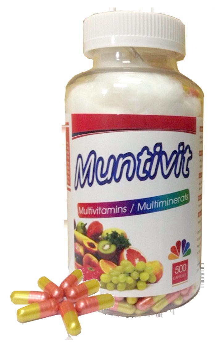 MUNTIVIT bổ sung vitamin và khoáng chất thiết yếu2