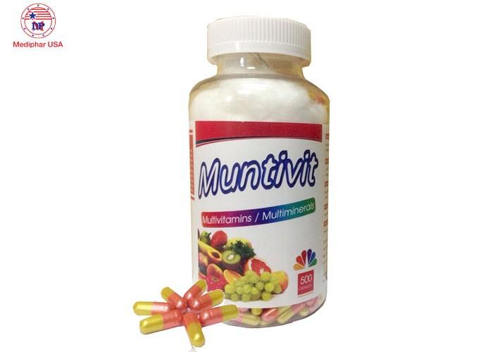 Bổ sung vitamin cho phụ nữ mang thai, người già với Muntivit0