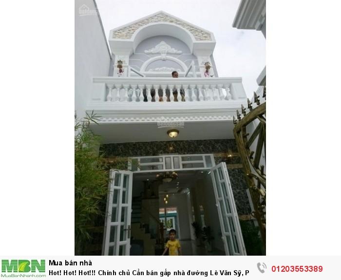 Chính chủ Cần bán gấp nhà đường Lê Văn Sỹ, P11, Q3. Gần chợ Nguyễn Văn Trỗi