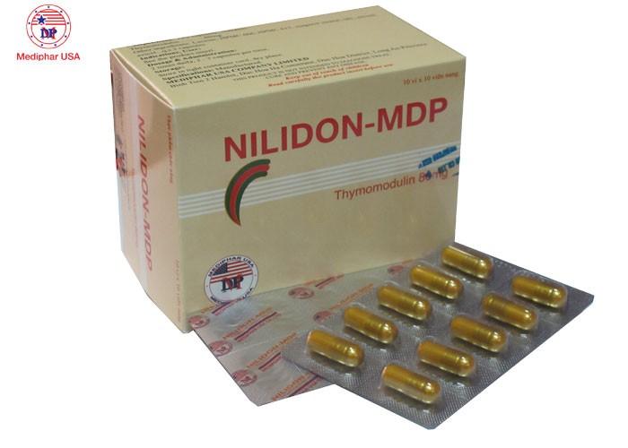 Nilidon MDP - Thực phẩm hỗ trợ bệnh nhiễm trùng do vi khuẩn