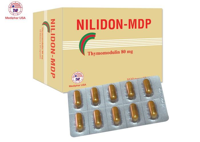 Thực phẩm hỗ trợ bệnh nhiễm trùng do vi khuẩn : Viên nang Nilidon MDP0