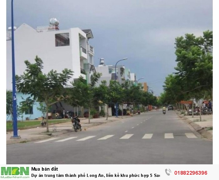 Dự án trung tâm thành phố Long An, liền kề khu phức hợp 5 Sao của Vingroup.