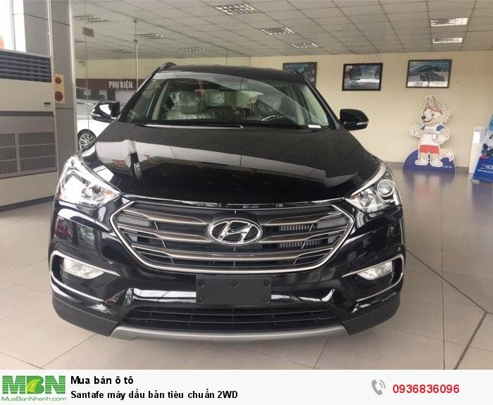 Hyundai Santa Fe sản xuất năm 2018 Dầu diesel