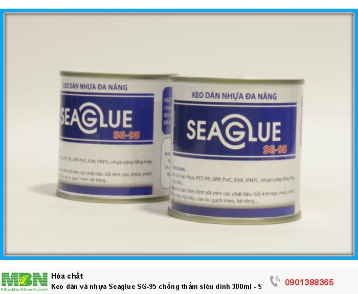 – Keo SEAGLUE bám dính chắc trên nhiều chất liệu. – Keo có độ đàn hồi, co giãn tốt sau khi khô.0