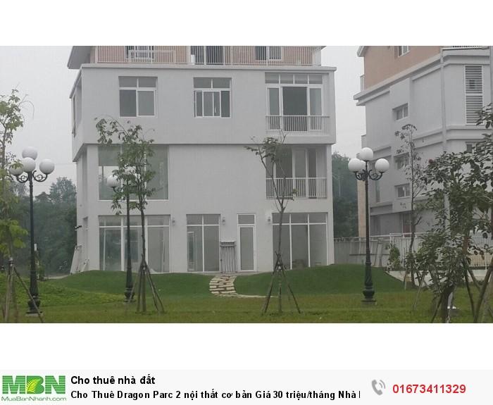 Cho Thuê Dragon Parc 2 nội thất cơ bản Giá 30 triệu/tháng Nhà Mặt Tiền Đường Nguyễn Hữu Thọ