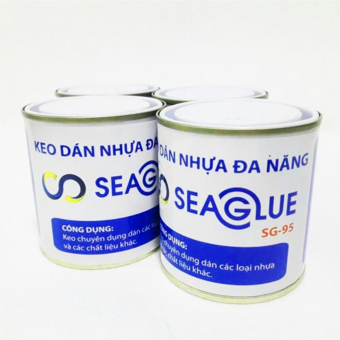 Keo SEAGLUE SG-95 có độ đậm đặc cao Keo SEAGLUE SG-95 có thời gian khô nhanh hơn, dính tốt hơn keo SG-45.2