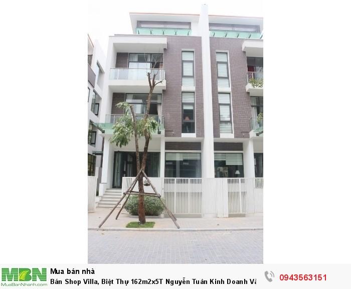 Bán Shop Villa, Biệt Thự 162m2x5T Nguyễn Tuân Kinh Doanh Và Cho Thuê Cực Tốt