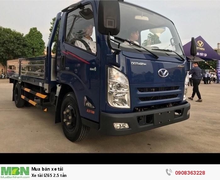 Xe tải IZ65 2.5 tấn
