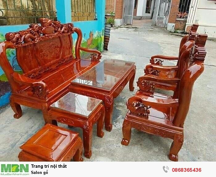 Salon gỗ1