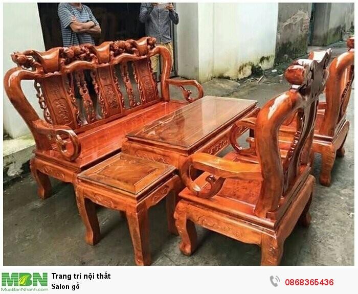Salon gỗ2