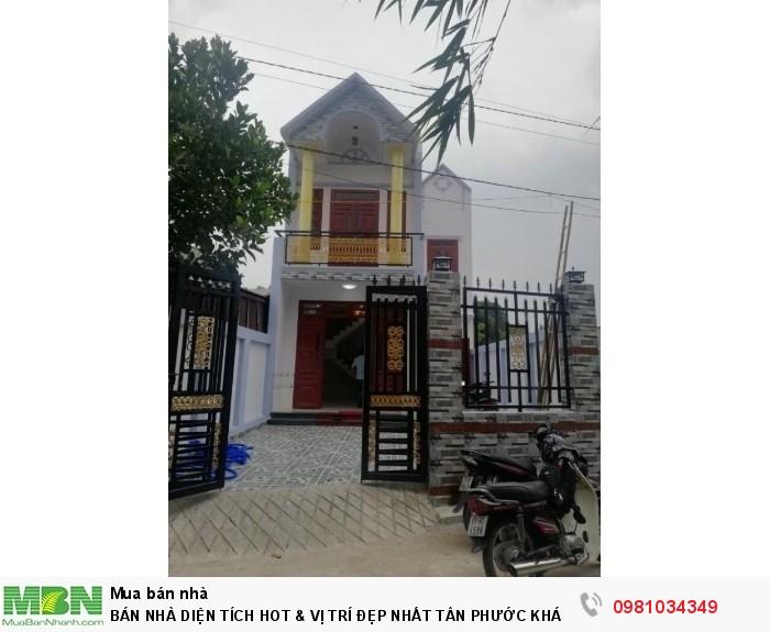 Bán Nhà Diện Tích Hot & Vị Trí Đẹp Nhất Tân Phước Khánh, Trung Tâm Thị Xã Tân Uyên