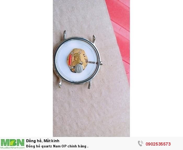 Đồng hồ quartz Nam OP Thụy Sỹ .0