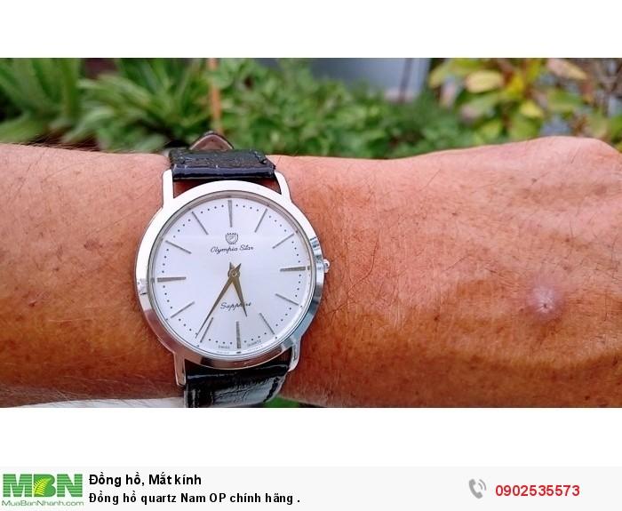 Đồng hồ quartz Nam OP Thụy Sỹ .3