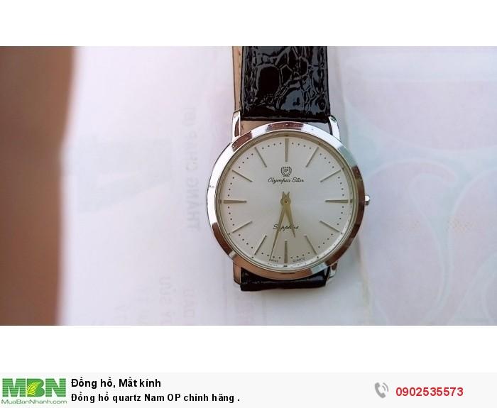 Đồng hồ quartz Nam OP Thụy Sỹ .4