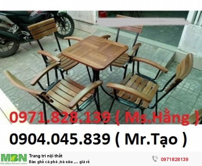 Bàn ghế cà phê ,trà sữa ,... giá rẻ1